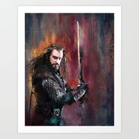 thorin Art Prints featuring Thorin by Wisesnail
