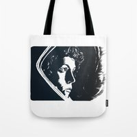 ripley Tote Bags featuring Ellen Ripley, Last Survivor of the Nostromo by Birds & Kings