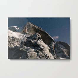 Half Dome Night Metal Print