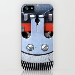 Vintage typewriter 2 iPhone Case