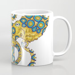 Blue Ringed Octopus dance Coffee Mug