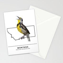 Montana – Western Meadowlark Stationery Cards
