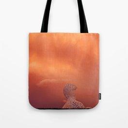 Alphabet Man Tote Bag