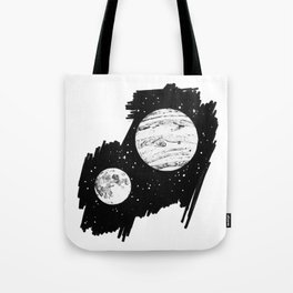 Nothing and everything Tote Bag