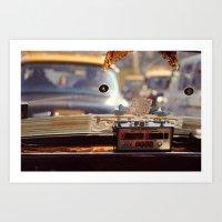 taxi driver Art Prints featuring Taxi Driver by MundanalRuido