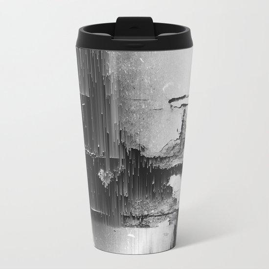 Crumbling Facade Metal Travel Mug