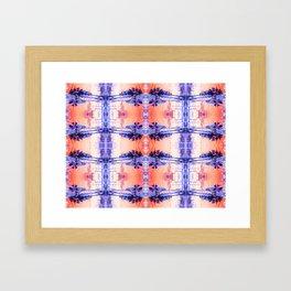 Tar Palm Reflection 1 Framed Art Print