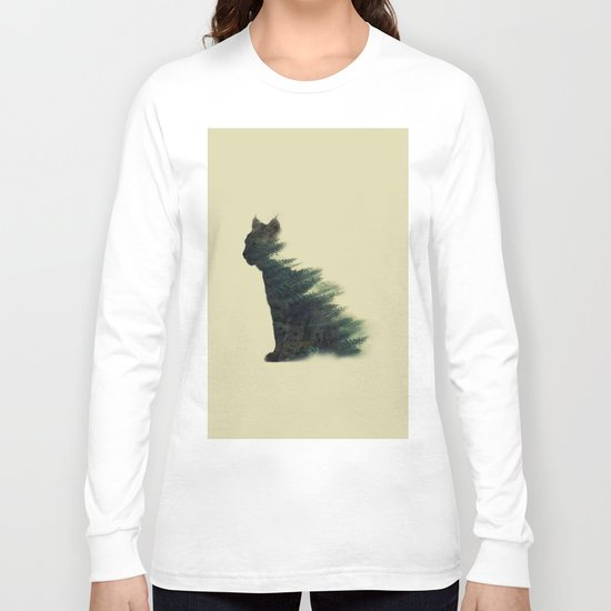 Animal in forest Long Sleeve T-shirt