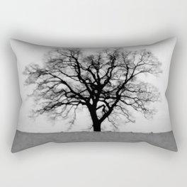 Winter Dead Tree Rectangular Pillow