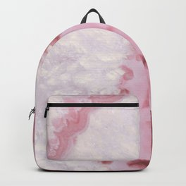 Millennial Pink Agate Backpack