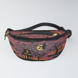 Halloween Night - Bonfire Glow Fanny Pack