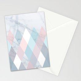 Diamond Peaks on Marble Stationery Cards