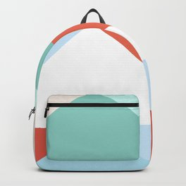 Bright Triangles Backpack