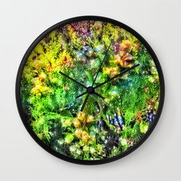 Dreamy Juniper Wall Clock