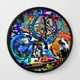 Max Ernst and the Dadaists Kids Wall Clock