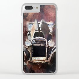 OLDTIMER Clear iPhone Case