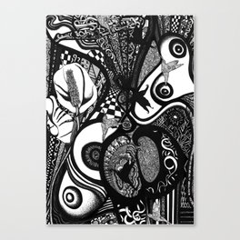 Liberation Lily Canvas Print