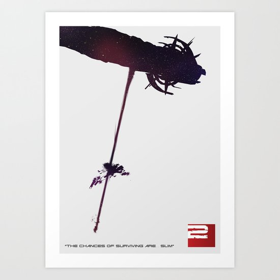 Mass Effect 2 Art Print
