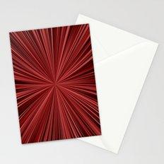 Maroon burst Stationery Cards