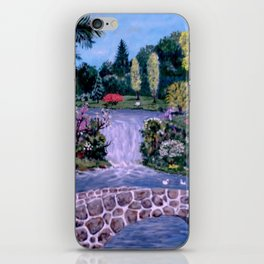 My Garden - by Ave Hurley iPhone Skin