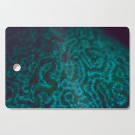Turquoise fluorescence Cutting Board