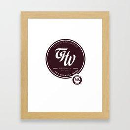 THW x EOS Framed Art Print