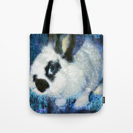 Rabbit art Tote Bag