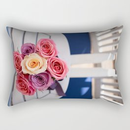 Everything is ready for the wedding. Rectangular Pillow