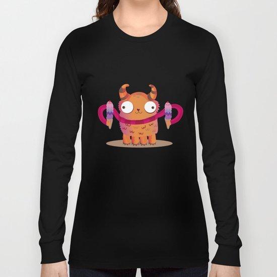 Icecream monster Long Sleeve T-shirt