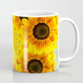 Spinning Sunflowers Coffee Mug