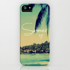 Summer Love Vintage Beach Slim Case iPhone (5, 5s)