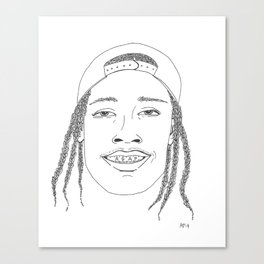 A$AP Canvas Print