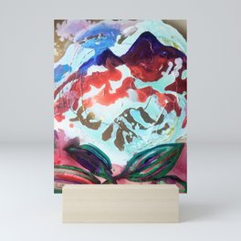 For purple mountain majesties Mini Art Print