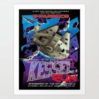 Kessel Run Art Print