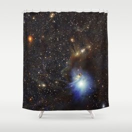 Young Star, Reflection Nebula IC 2631 Shower Curtain