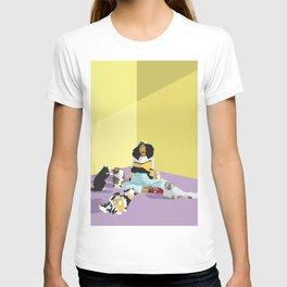 Cat Sitter T-shirt