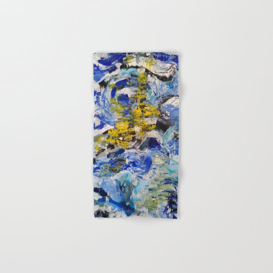 Abstract painting 5 Hand & Bath Towel