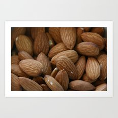 Almonds Art Print