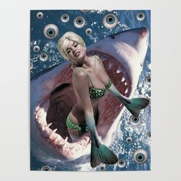 Pin Up Ocean Abyss Poster
