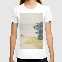Texas state line ... T-shirt