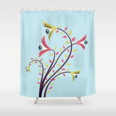 Eyes Are Watching You Shower Curtain