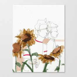 late summer / the things i kept inside Canvas Print
