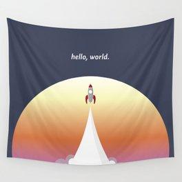 Hello World Wall Tapestry