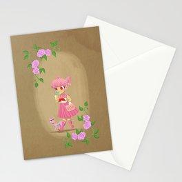 Retro Sailor Chibi Moon Stationery Cards
