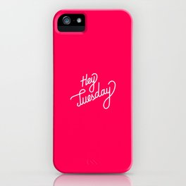 Hey Tuesday   [gradient] iPhone Case