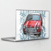 mini Laptop & iPad Skins featuring Mini by Magdalena Almero
