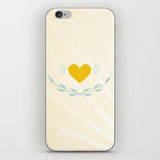 One sees clearly only with the heart iPhone Skin