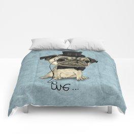 Pug; Gentle Pug (v3) Comforters