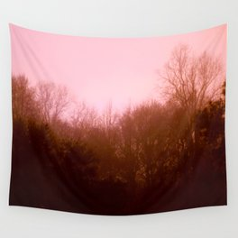 Pink Trees Wall Tapestry