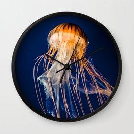 Pacific Nettle Jellyfish Wall Clock